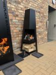 XL fire pit 152cm powder coated (2)
